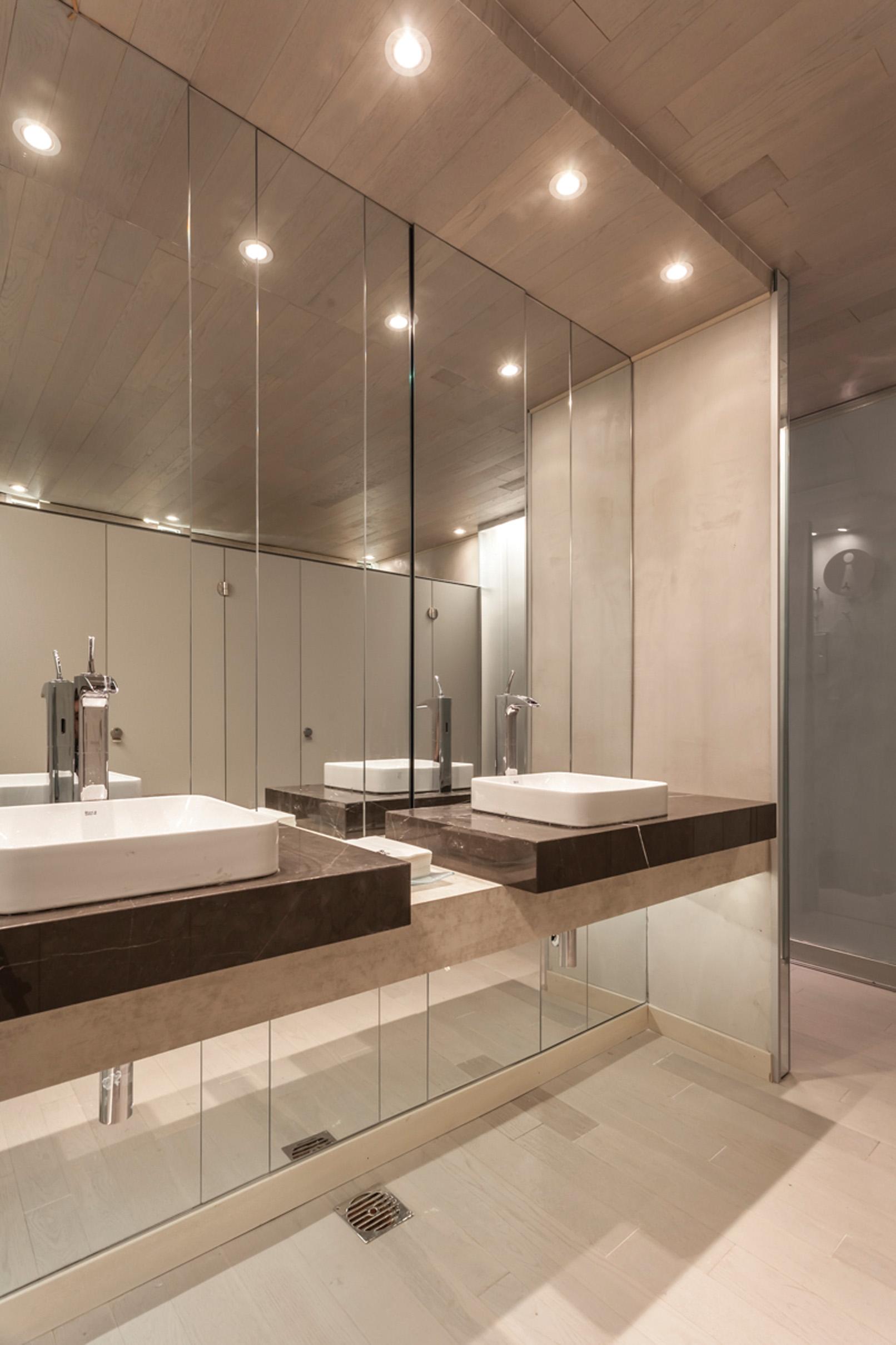 Espejo Laminado en baños